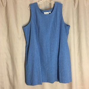 Linea by Louis Dell'Olio Blue Sleeveless Dress 20
